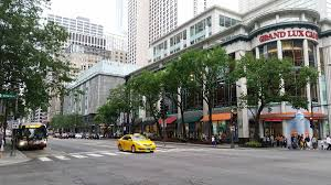 Chicago State Street Shopping Map by Michigan Avenue Chicago Wikipedia