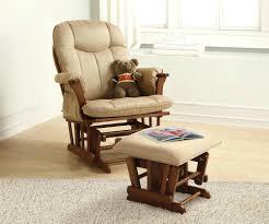 White Fur Ottoman by Ottoman Rocking Chair Ottoman Nursery Simple Teak Varnished