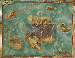 Gta World Map The Witcher 3 World Map Russian Witcher3 Throughout Grahamdennis Me