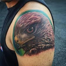 eagle shoulder tattoo best tattoo ideas gallery