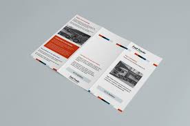 tri fold brochure template illustrator free free trifold brochure template for photoshop illustrator