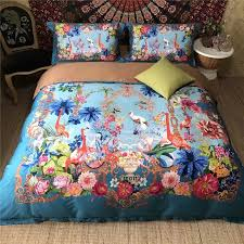 Girls Bright Bedding by Elegant Girls Bright Colorful Flamingo And Tropical Flower Print