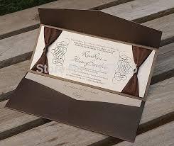 Wedding Invitation Pocket Envelopes Aliexpress Com Buy Hi5006 Personalized Pocket Fold Envelope