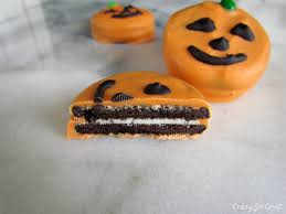 oreo jack o u0027 lanterns last minute halloween treats crazy for crust
