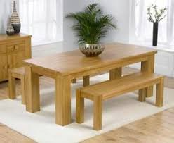 Oak Dining Table Bench Dining Bench Ebay