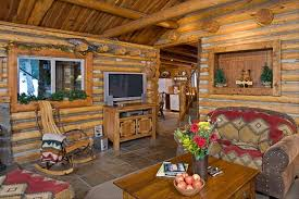 Hunting And Fishing Home Decor Bear Creek Log Cabin In The Forest Tub Vrbo
