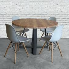 Dining Room Sets Orlando by Dining Table Round Wooden Dining Table And 4 Chairs Round Wooden