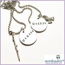 harry potter necklace images Harry potter wizard muggle bff necklace set best friend bestie jpg