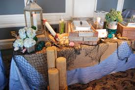 interior design fresh beach themed wedding table decorations