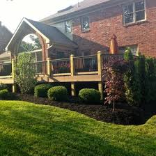 Deck Garden Ideas Brilliant Deck Landscaping Ideas 1000 Ideas About Landscaping