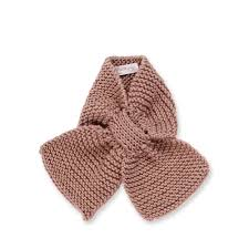 granny u0027s knitwear taupe baby scarf for boys and girls made from