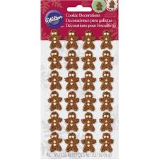 mini gingerbread icing decorations wilton