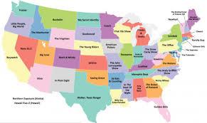 Florida Map State by Baywatch U0027 U003d California U0027golden Girls U0027 U003d Florida