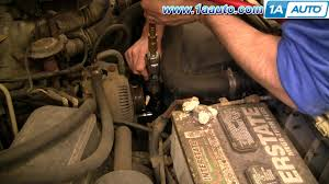 how to install replace serpentine belt tensioner ford f150 f250