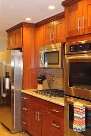 Kitchens With Cherry Cabinets Kitchen Youngsville Cabinet Company Natural Cherry Cabinets In
