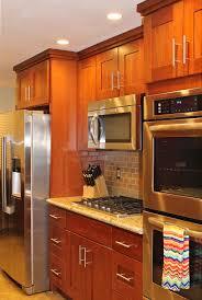 kitchen natural cherry kitchen cabinets decorating ideas 86440