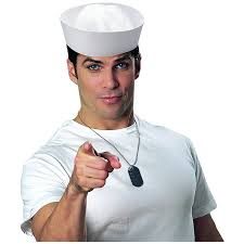 halloween sailor costume amazon com popeye sailor captains navy fishing marine costume hat