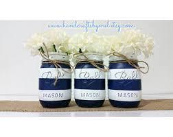 nautical mason jars etsy