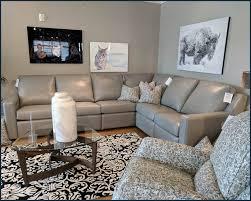 comfort design south village ii reclining sectional clp282