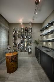 wine crate wine cellar contemporary with textured wall concrete wa