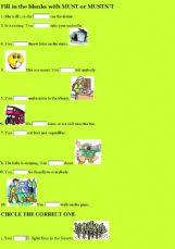 english exercises modal verbs