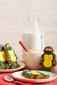 tmnt ninja bread cookies nickelodeon parents