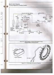 kohler engine electrical diagram re voltage regulator rectifier