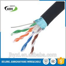 different types of pvc coat outdoor cat6 electrical cable buy