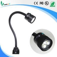 led gooseneck machine light china onn m3w ip65 cnc machine led gooseneck work light 24v 220v