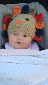 baby thanksgiving hat clarkson dressed baby river blackstock