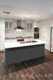 kitchen designs adelaide contemporary caesar stone gloss