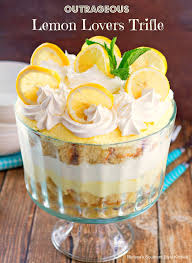 outrageous lemon lovers trifle melissassouthernstylekitchen com