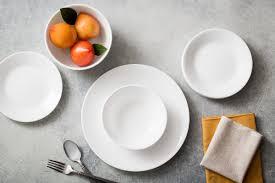 Corelle Square 30 Piece Dinnerware Set Corelle Livingware Winter Frost 20 Piece Dinnerware Set Service