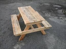 Kids Wooden Picnic Table Diy Pallet Picnic Table Jpg 720 540 Pixels Pallets Ideas