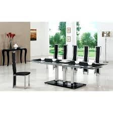Black Extendable Dining Table Dining Table For 8 U2013 Ufc200live Co