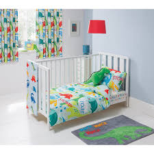 Asda Bed Sets George Home Dino And Roar Duvet Set Baby Bedding George At Asda