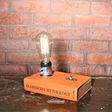 desk l light bulbs edison bulb book l small desk l bedside l edison l