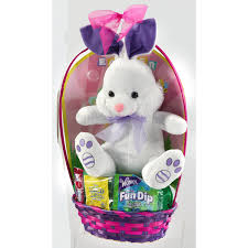 pre filled easter baskets prefilled plush easter basket assorted styles meijer
