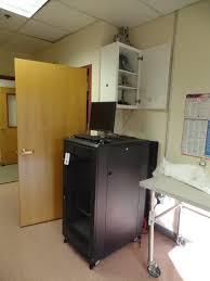 lot server rack monitor netgear pieces etc in kitchen u0026 closet