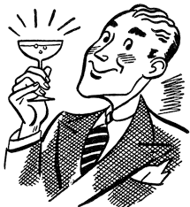 martini glasses clipart retro martini man image the graphics fairy