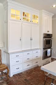 furniture in the kitchen eleven gables appliance cabinet and desk command center in