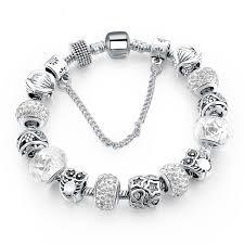 crystal charm bracelet beads images European crystal charm bracelets star fashion accessories jpg