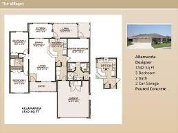 The Villages Floor Plans The Villages Homes Designer Homes Alamanda Model