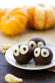 vegan halloween pumpkin spice truffles serving realness