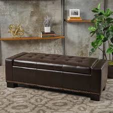 ottomans u0026 benches costco