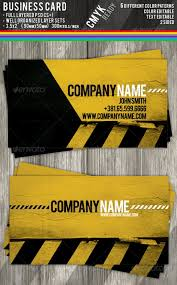 Best Business Card Company Construction Business Cards Premium Template Best Namecard