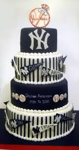 New York Yankees Home Decor 25 Best Yankee Cake Ideas On Pinterest Baseball Theme Cakes