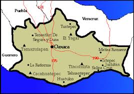 map of oaxaca mexico this is a map of oaxaca oaxaca is a country located in southern