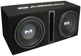 use car subwoofer in home theater mb210sppkg mtx car subwoofer enclosure mtx audio serious about