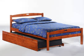 Queen Bed With Twin Trundle Bed Frames And Accessories Robb U0027s Pillow Furniture Futons Beds